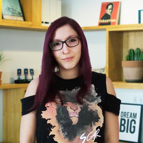 Sara Marfil - Diseñadora y desarrolladora Frontend